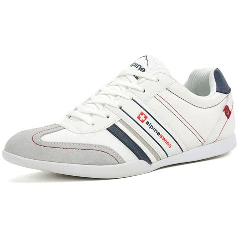 fashion sneakers mens alpineswiss ivan mens tennis shoes fashion sneakers retro
