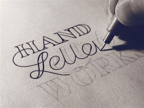 free tutorial hand lettering hand lettering process hand lettering by seanwes