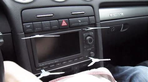 Audi Radios by How To Upgrade 2002 2008 Audi A4 Radio With Dvd Gps Touch