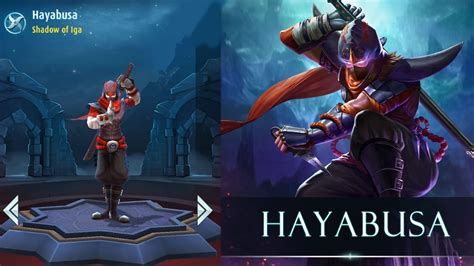 tutorial hayabusa mobile legend mobile legends bang bang hayabusa shadow of iga youtube