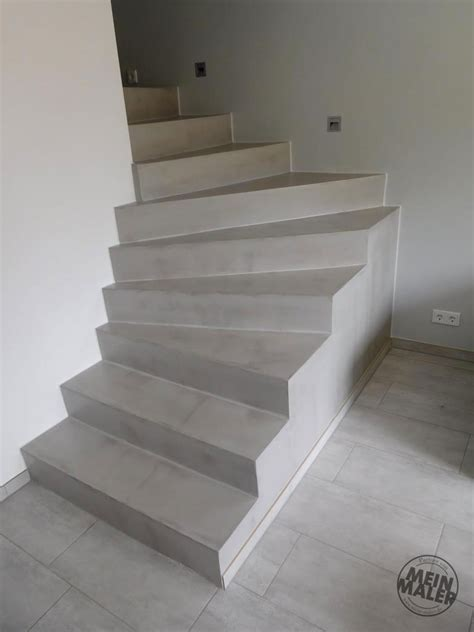 treppe betonoptik savamea fugenlose betonoptik f 252 r eine treppe in