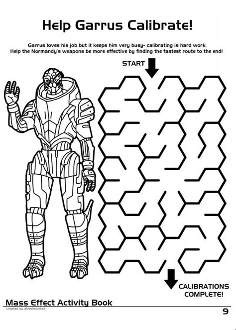 coloring book effect free mass effect coloring and activity book others