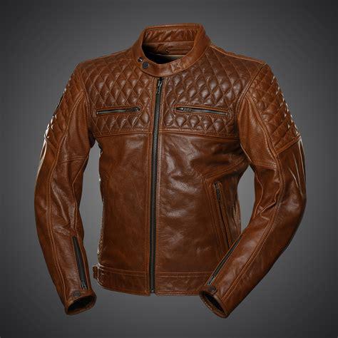 Classic Motorrad Lederjacke by 4sr Motorradlederjacke Scrambler Cognac
