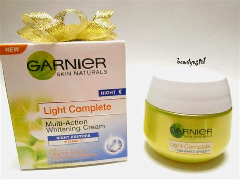 Garnier Serum Krim garnier light complete white speed review beautyasti1