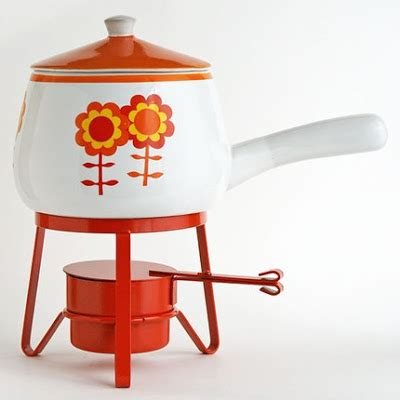 The Most Fabulous Fondue by The Cottage Cheese Etsy Vintage Cheese Finds