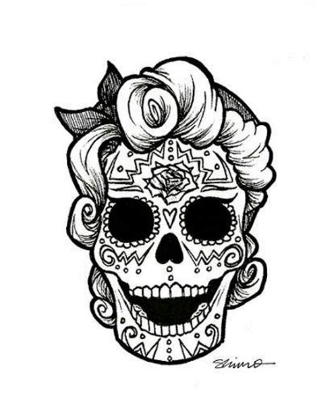day of the dead face coloring pages color me sugar skull face sugar skull faces pinterest