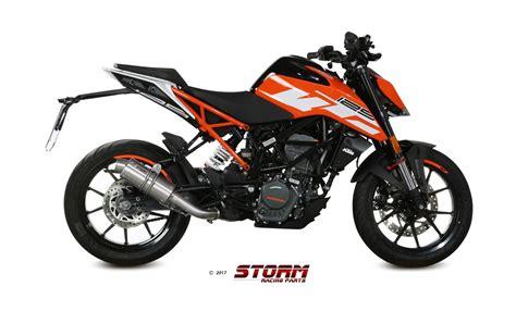 Motorrad Auspuff Fertigung storm made by mivv und ebenso kernig laut