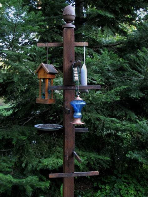 bird feeder station this is kinda cool cing pinterest
