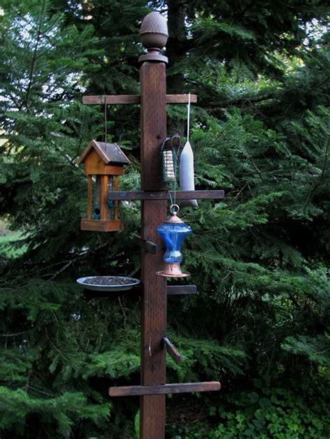 bird feeder station this is kinda cool cing pinterest