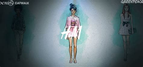 Detox Catwalk Adidas by Giftfreie Kleidung Greenpeace Lobt H M Und Co Utopia De
