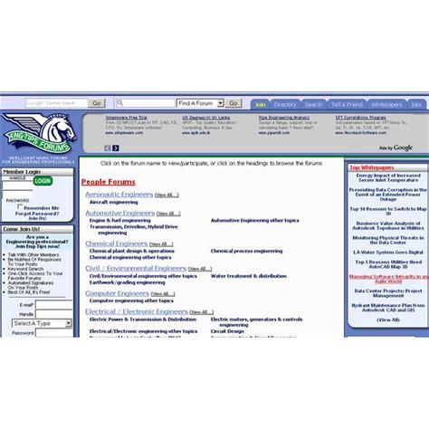 websites  forums  civil engineers