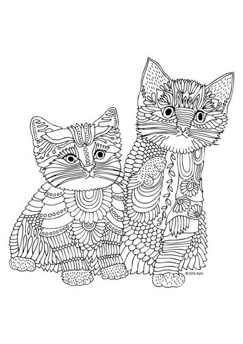 grown up coloring pages cats 244 best images about coloring book on pinterest all