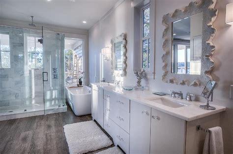 beach cottage master bathroom design  extra large