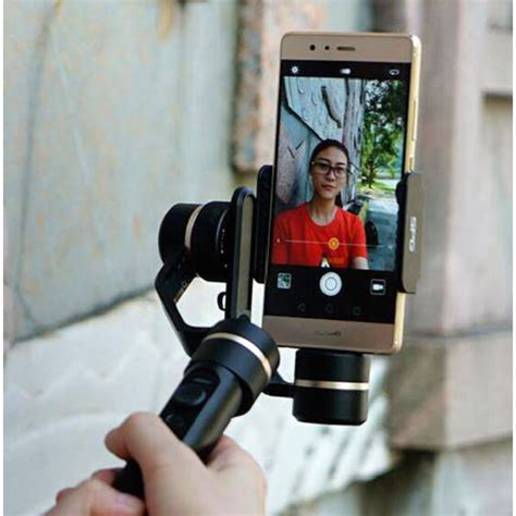Feiyu Tech Spg Gimbal 3 Axis Stabilizer Handheld Iphone Black feiyu tech spg gimbal 3 axis stabilizer handheld for