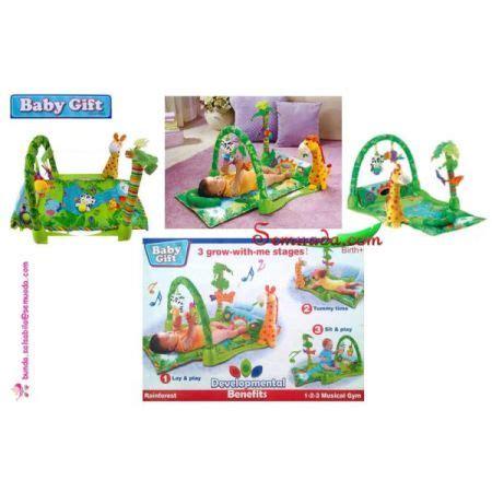 Matras Bayi Baby Gift Rainforest Terlaris jual murah baby gift rainforest toko semuada bunda salsabila
