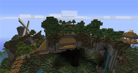 mountain house minecraft project