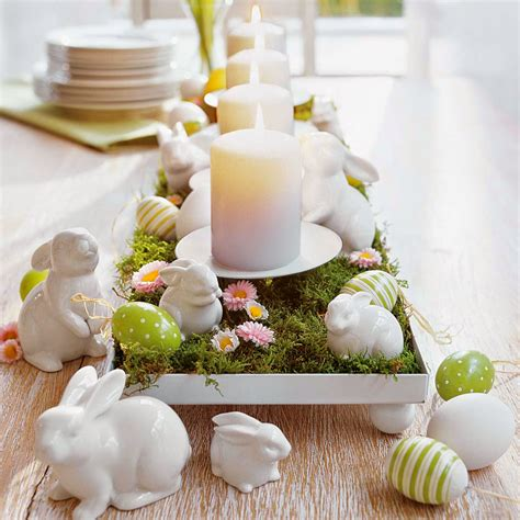 best ideas to put easter centerpieces on table with