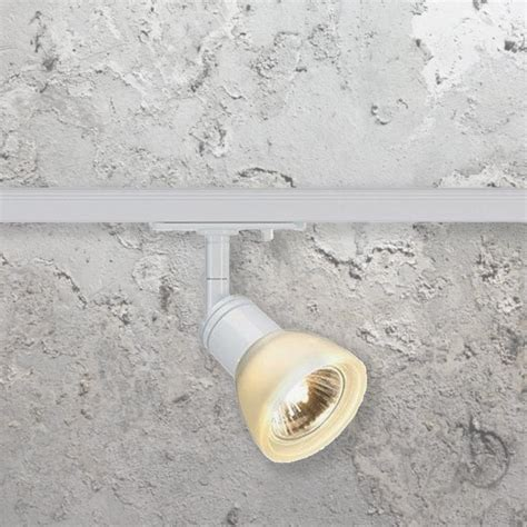 Ranarp Wall Cl Spotlight White 1 gu10 track spotlight cl 32401 track e2 contract lighting uk