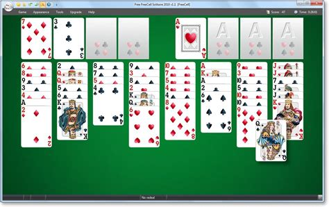 printable solitaire card games freeware download freecell solitaire large print