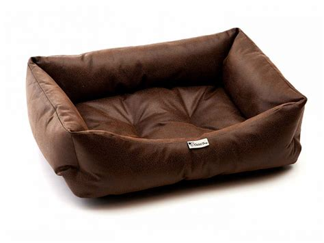 leather dog beds chilli dog pet beds british made dog beds from 4 pets