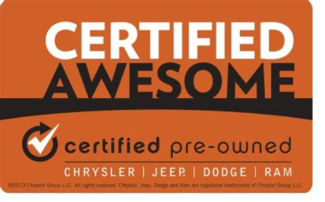 Chrysler Certified Pre Owned Warranty by Chrysler Certified Pre Owned Vehicles Casebere Motor Sales