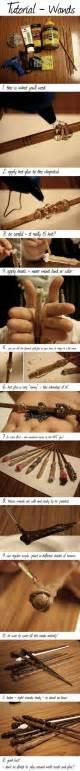 chopstick wand tutorial harry potter diy harry potter wand and harry potter on