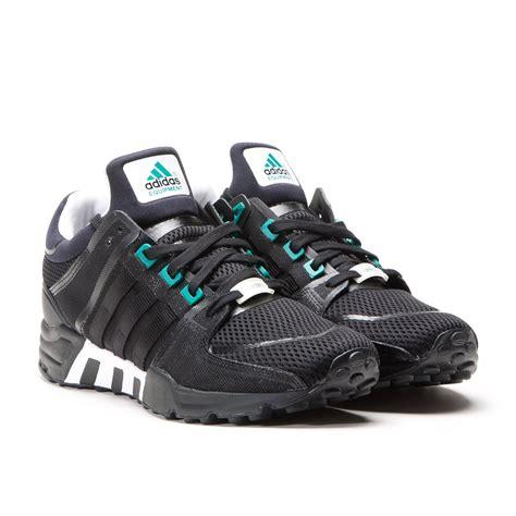 adidas equipment running support  black white