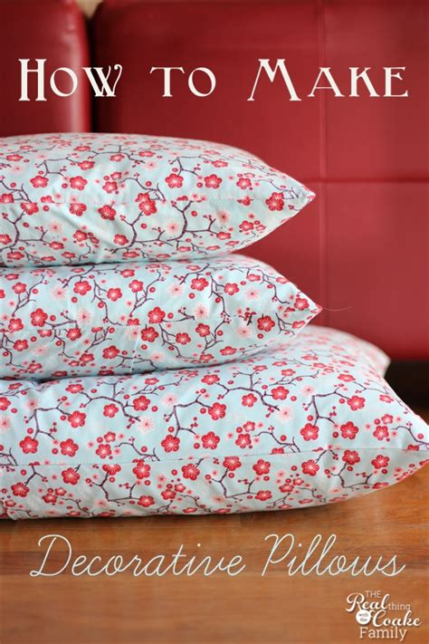 Decorative Pillow Patterns To Sew by How To Make Decorative Pillows Make Envelope Pillow Covers
