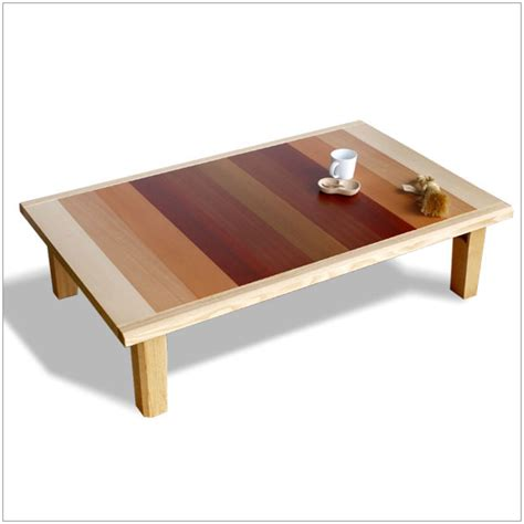 gorgeous japanese low dining table on form of kashiwagi