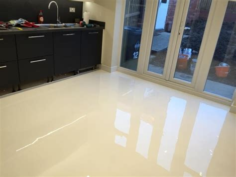 White Gloss Floor L by White Floors Project Gallery 194 Achtis White