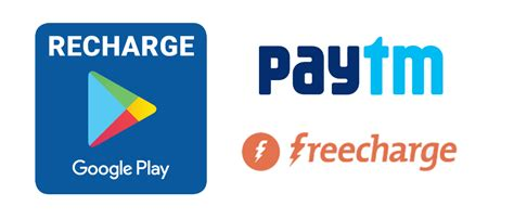 Play Store Recharge Freecharge And Paytm Now Allows Buying Play Credit