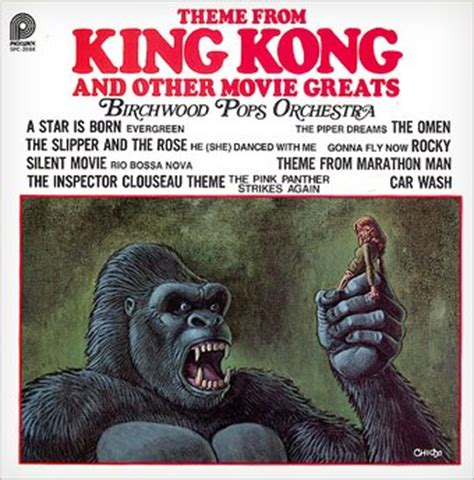 theme music king kong birchwood pops orchestra theme from king kong and other