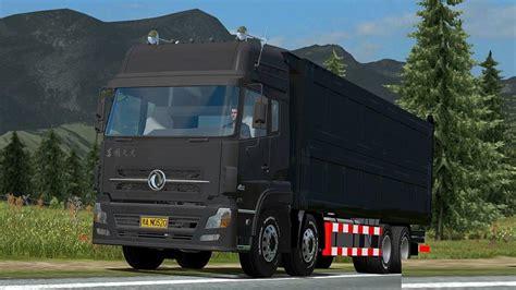 dongfeng dump truck  mod euro truck simulator  mods
