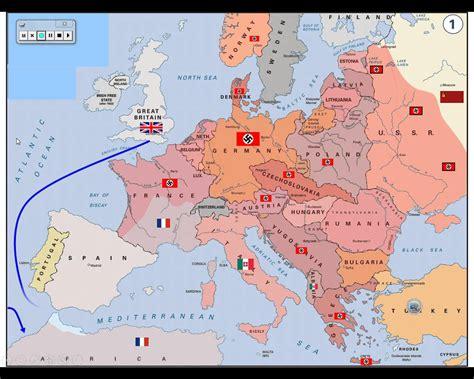 ww2 map ww2 europe map thefreebiedepot