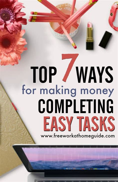 Make A Little Extra Money Online - top short task sites for making money online from home