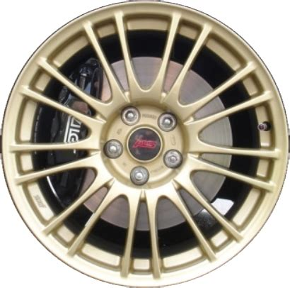 black subaru gold rims subaru impreza wrx wheels rims wheel rim stock oem replacement