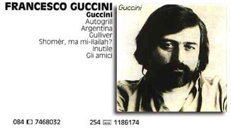 guccini vedi cara testo guccini bilder news infos aus dem web