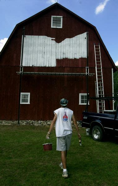 chalk paint youngstown ohio bicentennial barn painter brushes up lucas county the blade