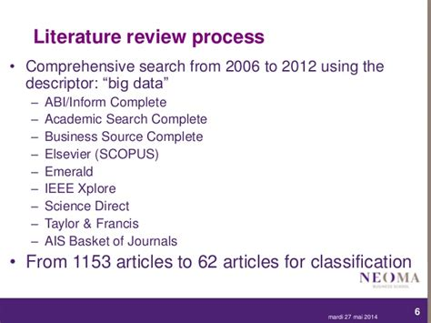 Mba Comprehensive Reviewer by Quot Big Data Quot And Business Analytics Key Requirements For