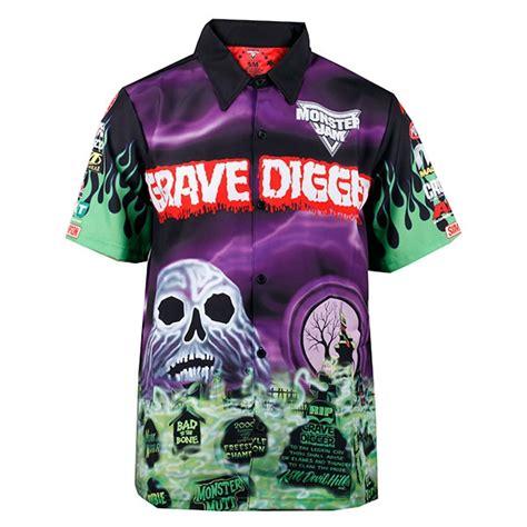 Grave Digger Driver Shirt