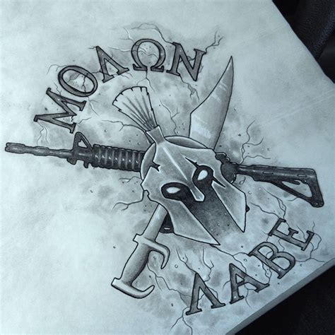 molon labe tattoo ideas molon labe idea tattoos pinte