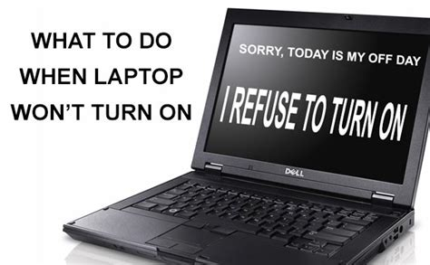 My Asus Laptop Wont Turn my laptop won t turn on what to do