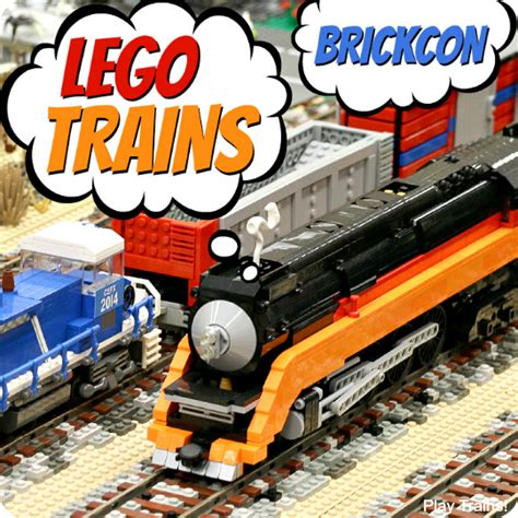 Lego Orange Roller Skate Lego Accessories lego trains at seattle brickcon 2014