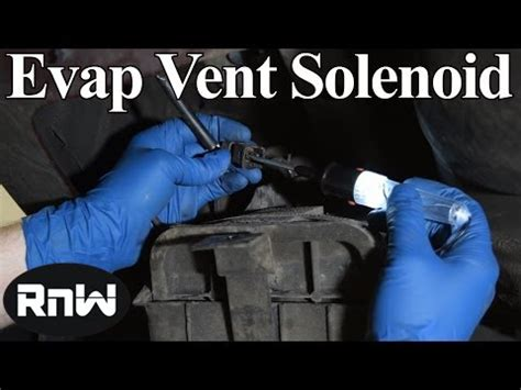symptoms  diagnosis   bad evap vent valve solenoid