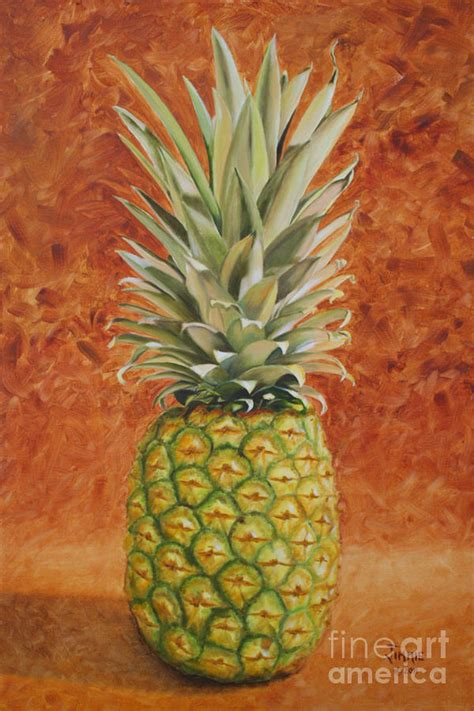 Metal House Plans pineapple painting by jimmie bartlett