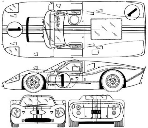 the blueprints com blueprints gt cars gt racing classics gt era type b the blueprints com blueprints gt cars gt ford gt ford gt mk iv