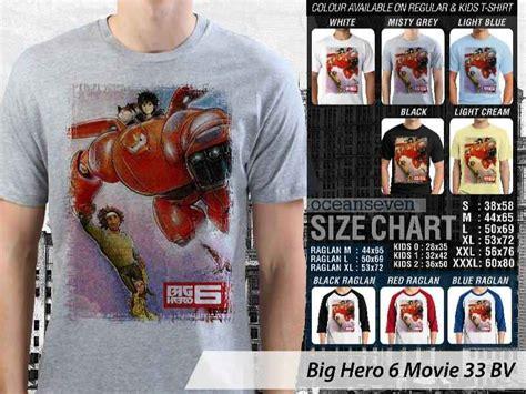Kaos Big 6 03 teesday clothing kaos big 6 hiro hamada kaos animasi big