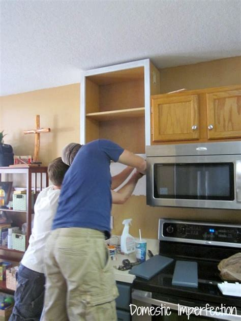 raising kitchen cabinets how to raise your cabinets add a shelf domestic
