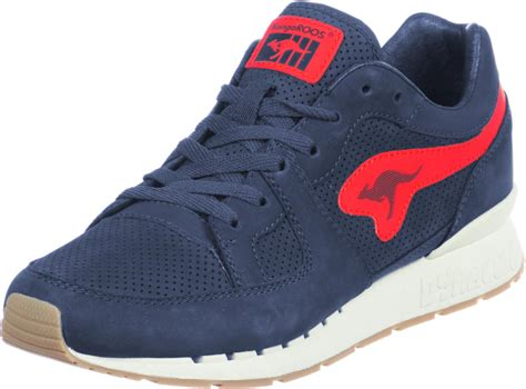 kangaroos shoes kangaroos coil r1 nubuck shoes blue