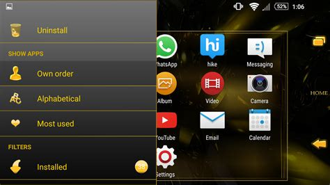 google themes gold theme black gold android apps on google play